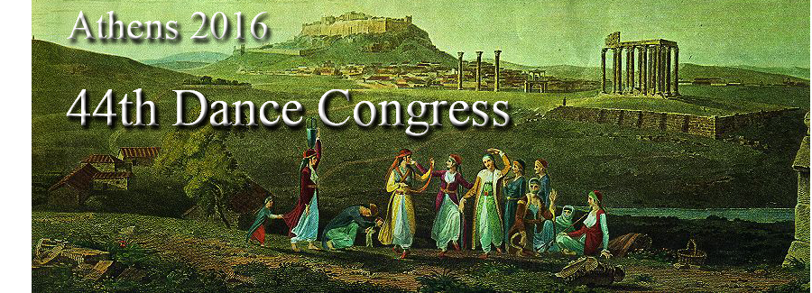 44th Dance Congress, Athens 2016